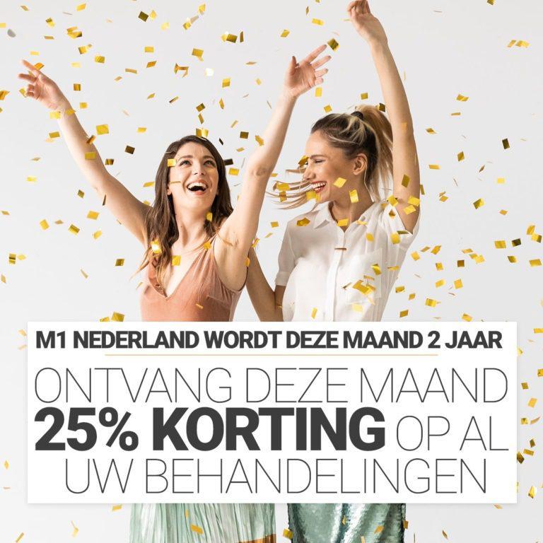 Happy Birthday M1 Med Beauty NetherlandsHappy Birthday M1 Med Beauty Netherlands. 25% korting